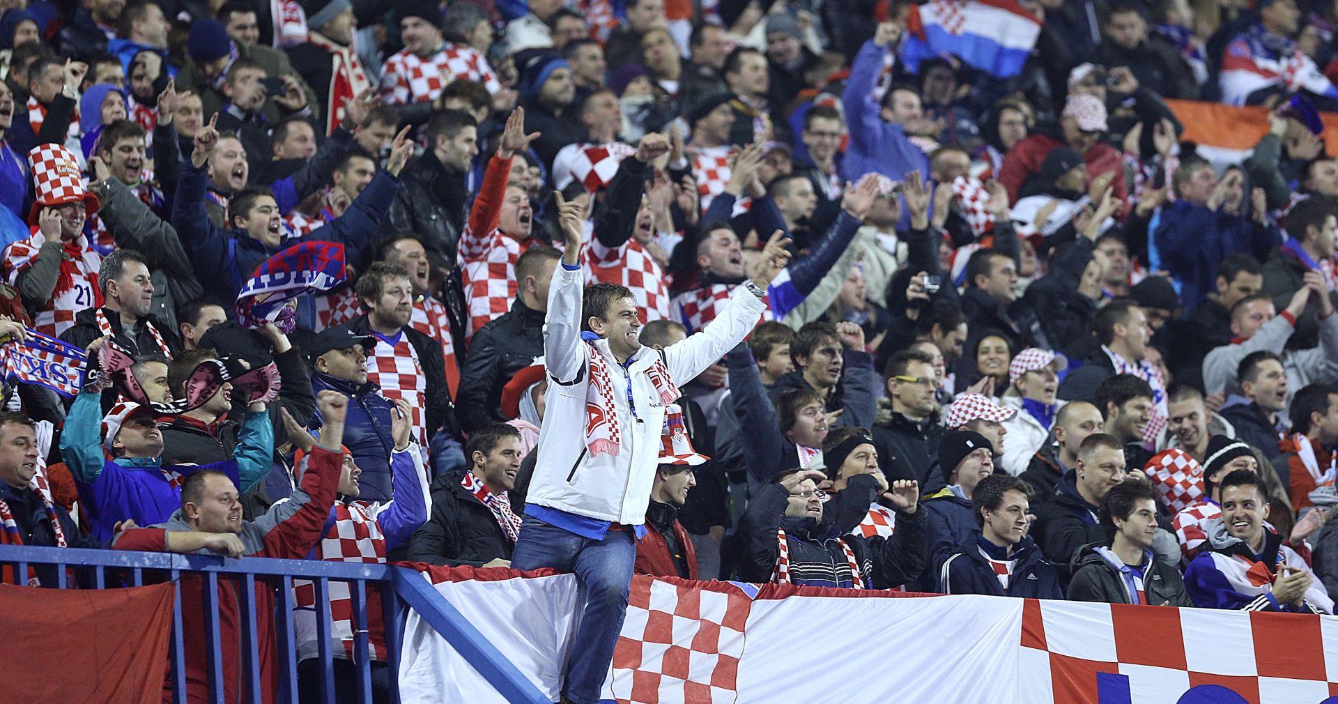 VEČERAS OD 20:45 Hrvatska protiv Ukrajine pred punim Maksimirom, policija pojačala mjere