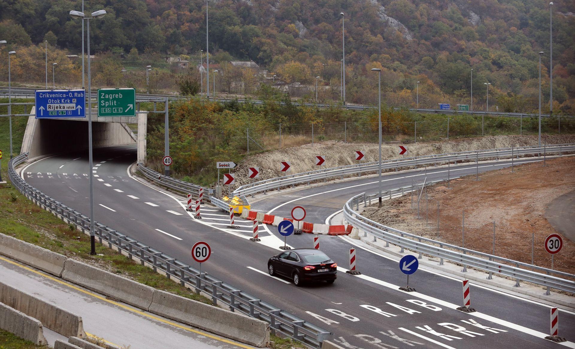 HAK Za promet zatvoren čvor Rujevica na riječkoj obilaznici