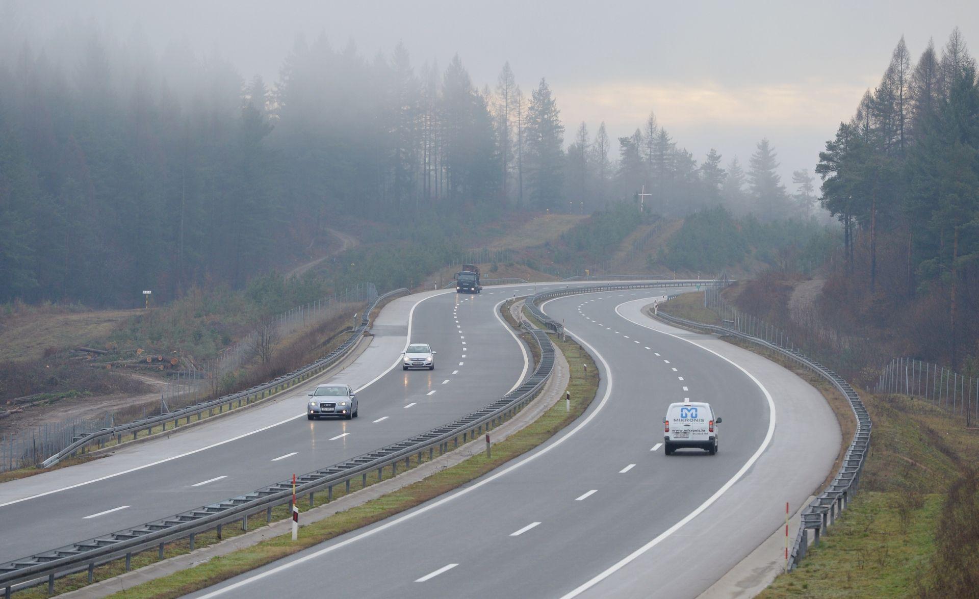 HAK Vjetar ograničava promet na Jadranskoj magistrali oko Senja