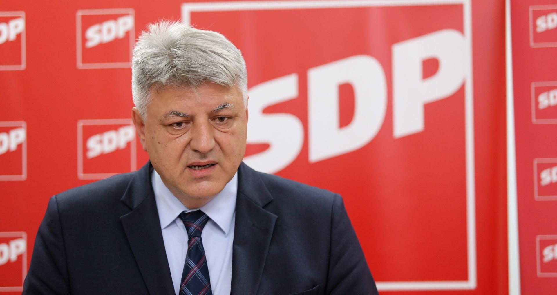 """KOMADINA """"SDP će vjerojatno glasati suzdržano o novome državnom odvjetniku"""""""