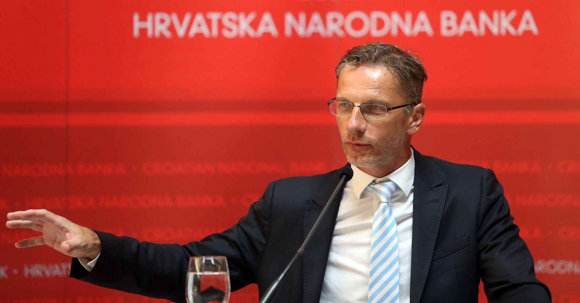 HNB objavio koliko je guverner Boris Vujčić potrošio na putovanja