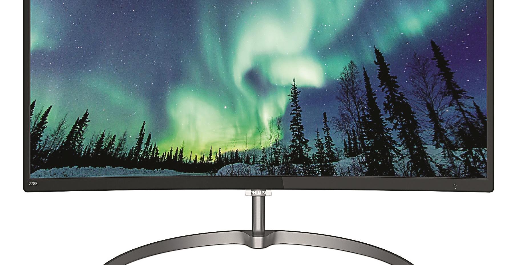 FOTO: Zakrivljeni 27-inčni monitor