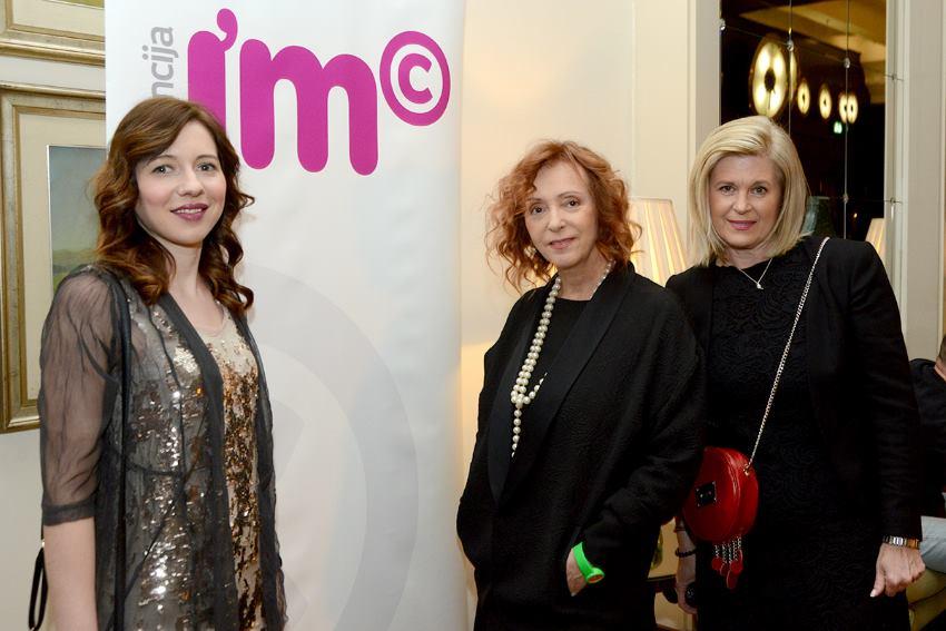 Organizacijski odbor Pink gala humanitarne večeri, Suzana Jovanović, Sanja Muzaferija i Alis Marić