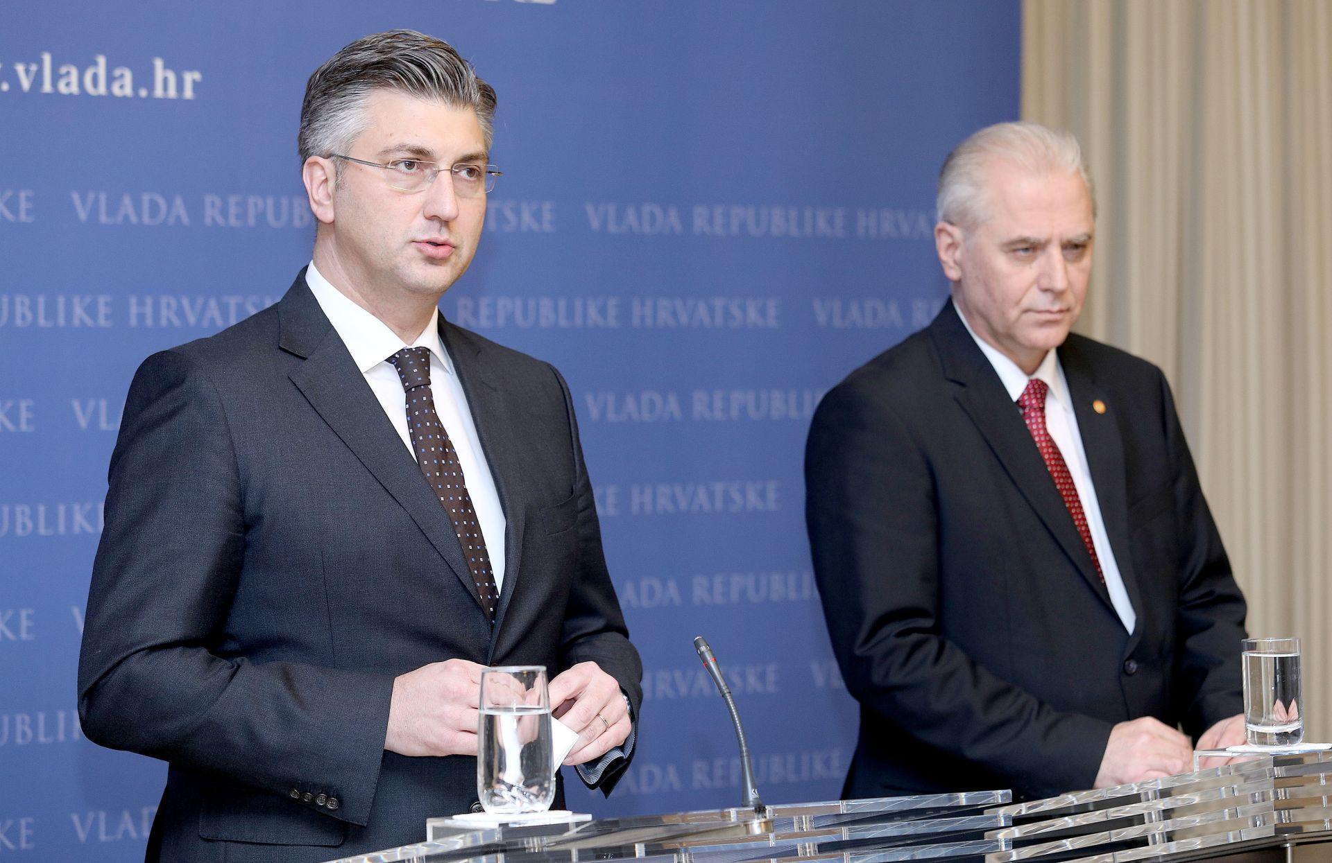 """AFERA """"DNEVNICE"""" Plenković: 'I nakon Milanovića bilo je nepravilnosti s putnim nalozima'"""