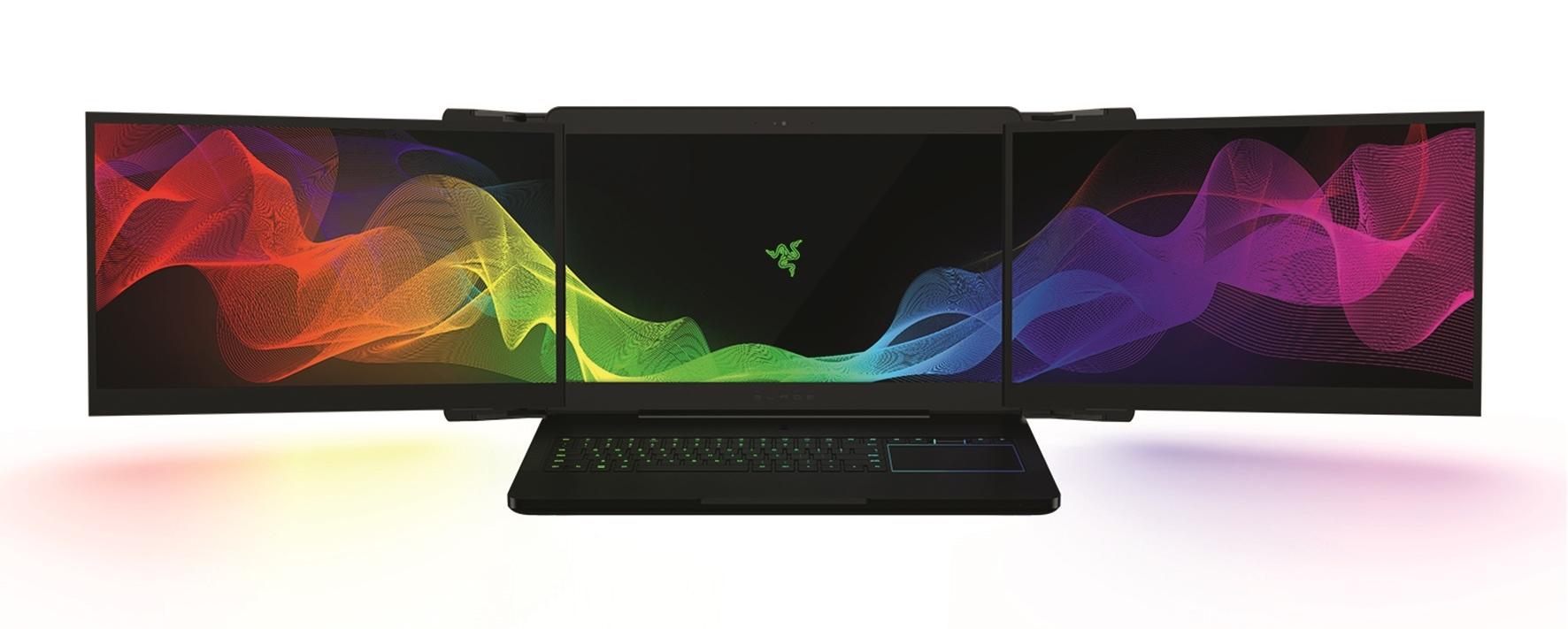 RAZER PROJECT VALERIE: Prvi laptop s trima ekranima