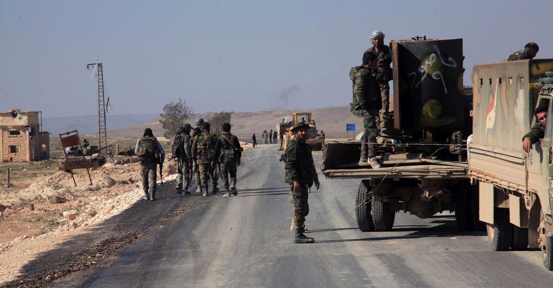 Turska najavila završetak vojne operacije na sjeveru Sirije
