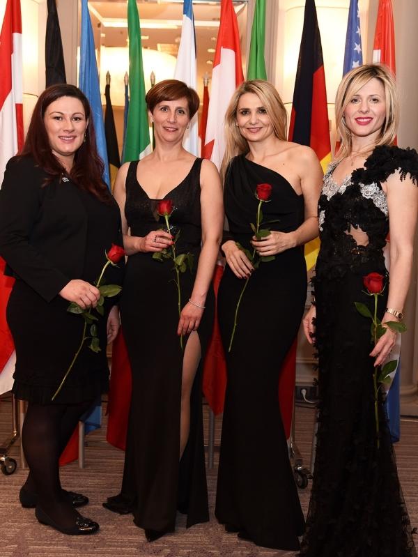 Delfa Kosić Papić, Tamara Gazdić - Alerić, Ivona Čulo i Dijana Zadravec
