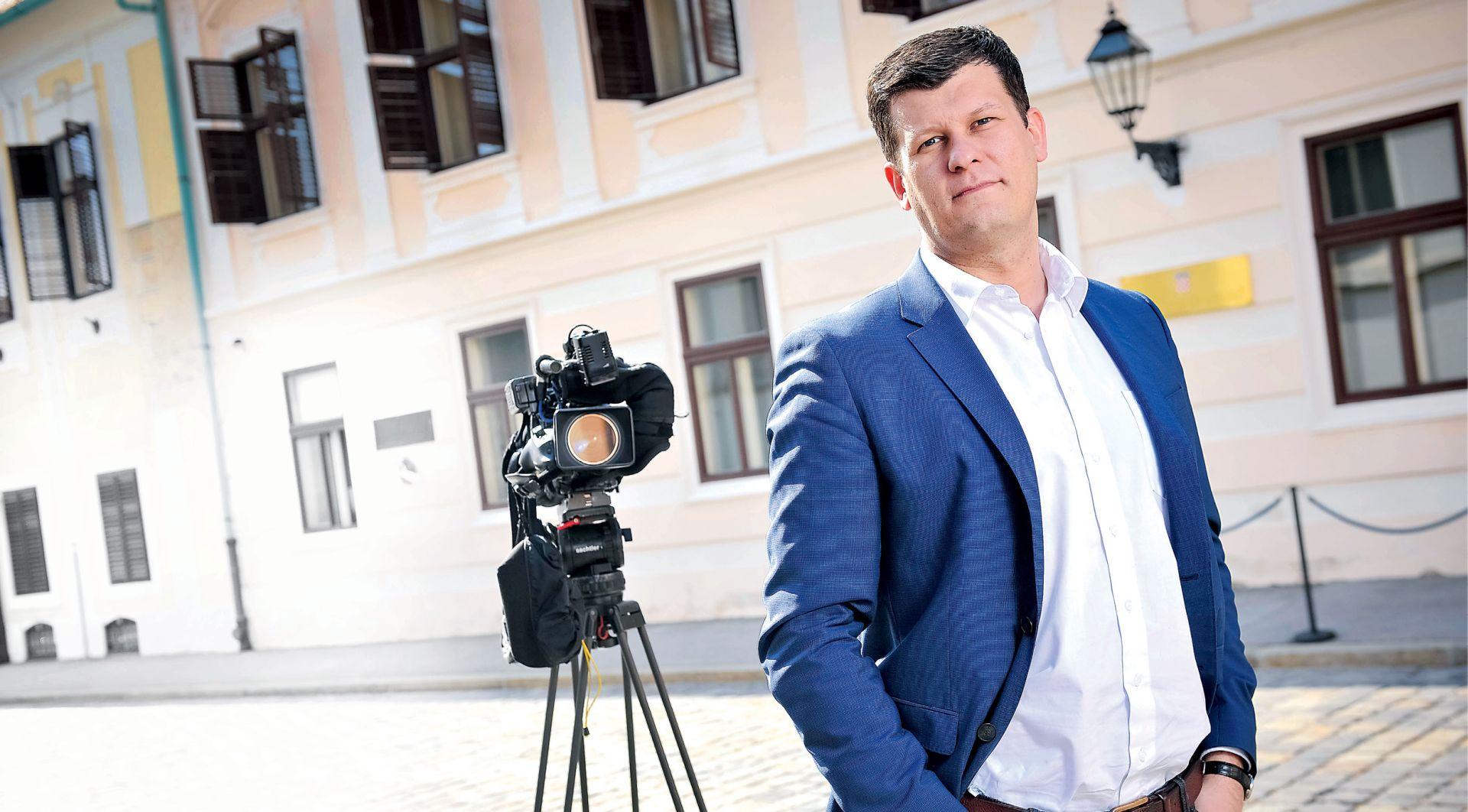 INTERVIEW: HRVOJE KREŠIĆ 'Došao sam na N1 zbog novog izazova, a ne zbog sukoba s premijerom'