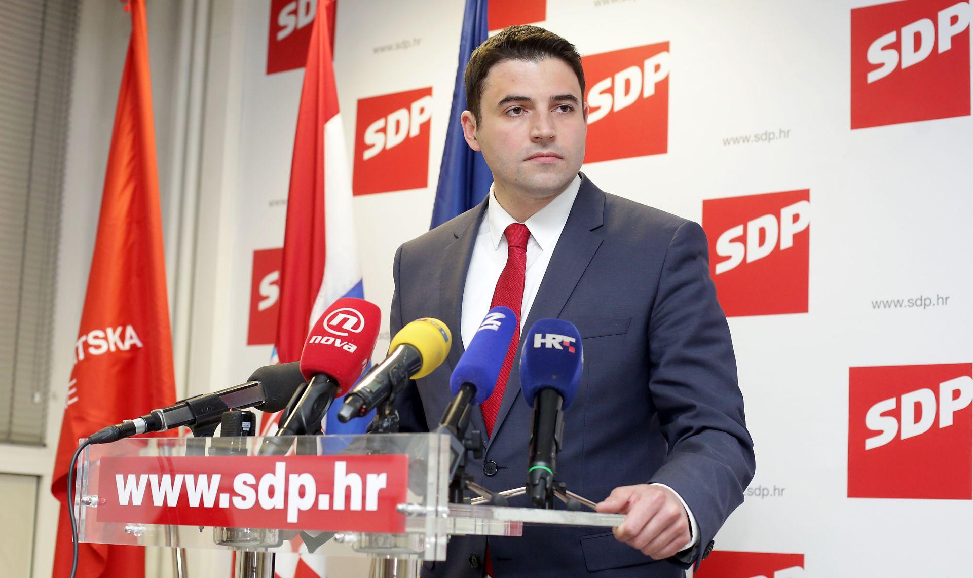 DAVOR BERNARDIĆ: 'SDP očekuje nacionalni dogovor s HNS-om'