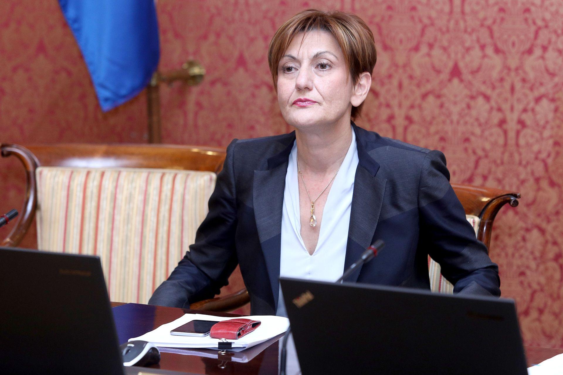 MINISTRICA DALIĆ: 'Pozdravljamo mogućnost dogovora Agrokora i banaka'