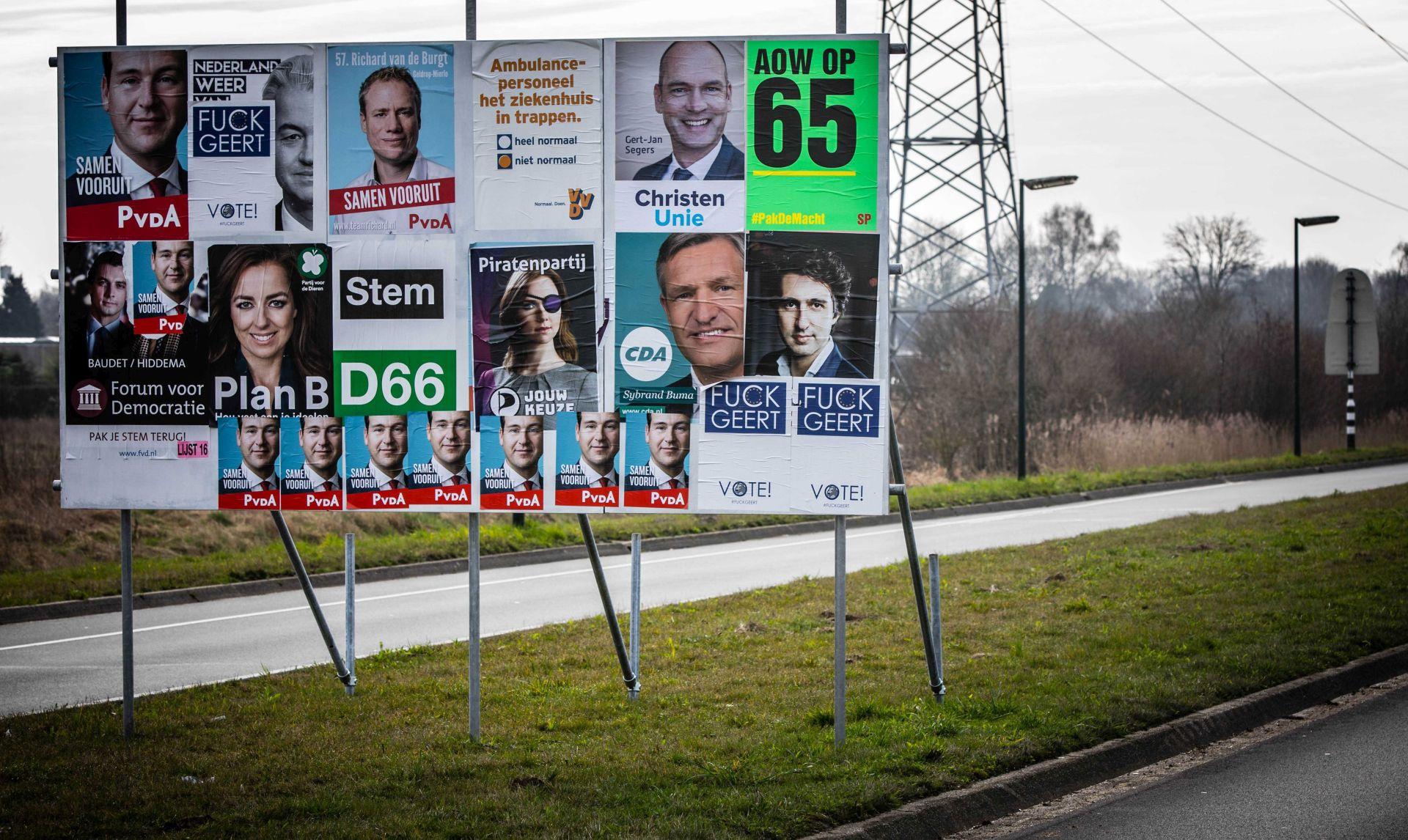 NIZOZEMSKI IZBORI Jednaki omjeri i nakon 55 posto glasova, čestitala Merkel