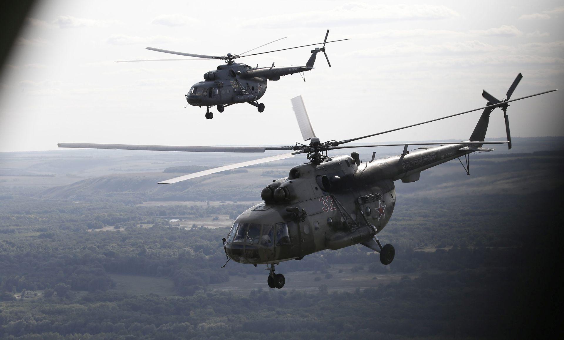 Šest osoba poginulo pri padu ruskog helikoptera blizu Gruzije