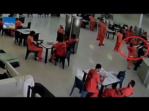 VIDEO NAPAD U ZATVORU: Zatvorenik pokušao zadaviti čuvara ručnikom