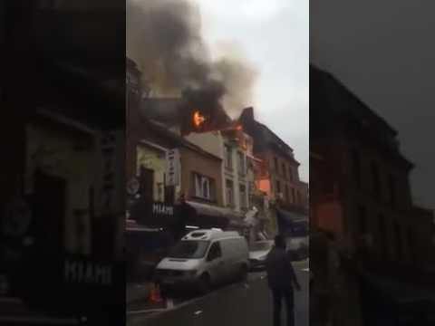 VIDEO: BRUXELLES Sedam osoba ozlijeđeno u eksploziji plina