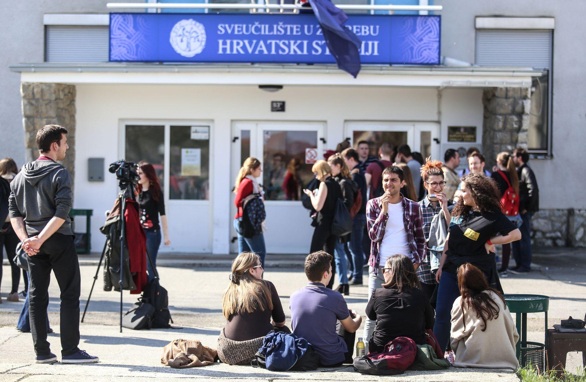 HRVATSKI STUDIJI: 'Studentska blokada je posljednja linija otpora'