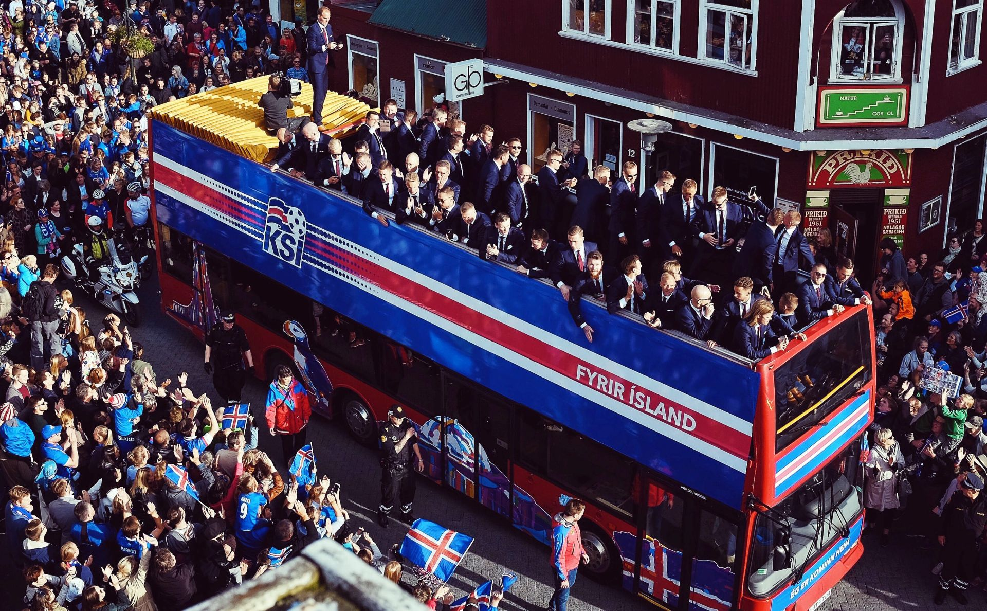 'Baby boom' na Islandu devet mjeseci nakon pobjede protiv Engleske