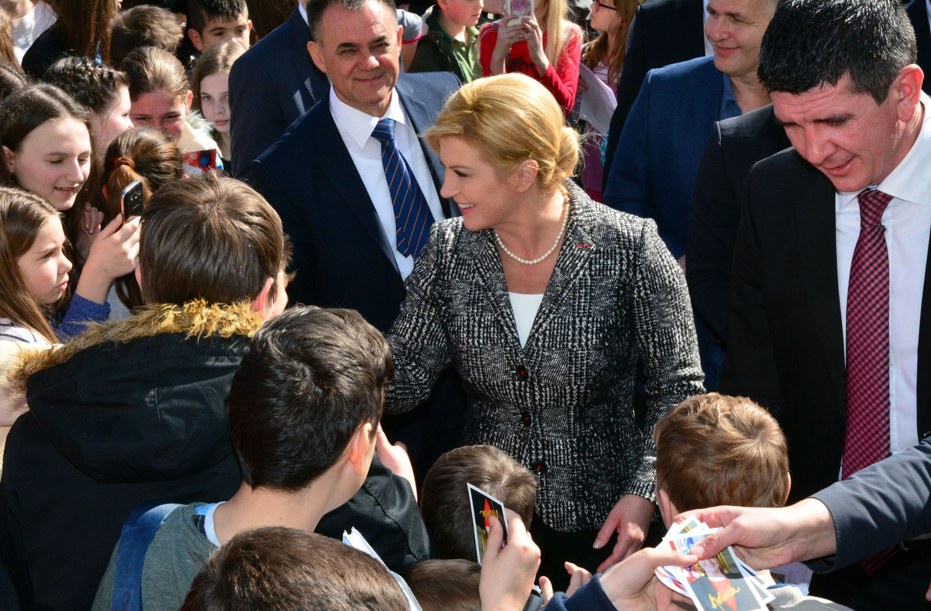 Predsjednica završila boravak u Požeško-slavonskoj županiji