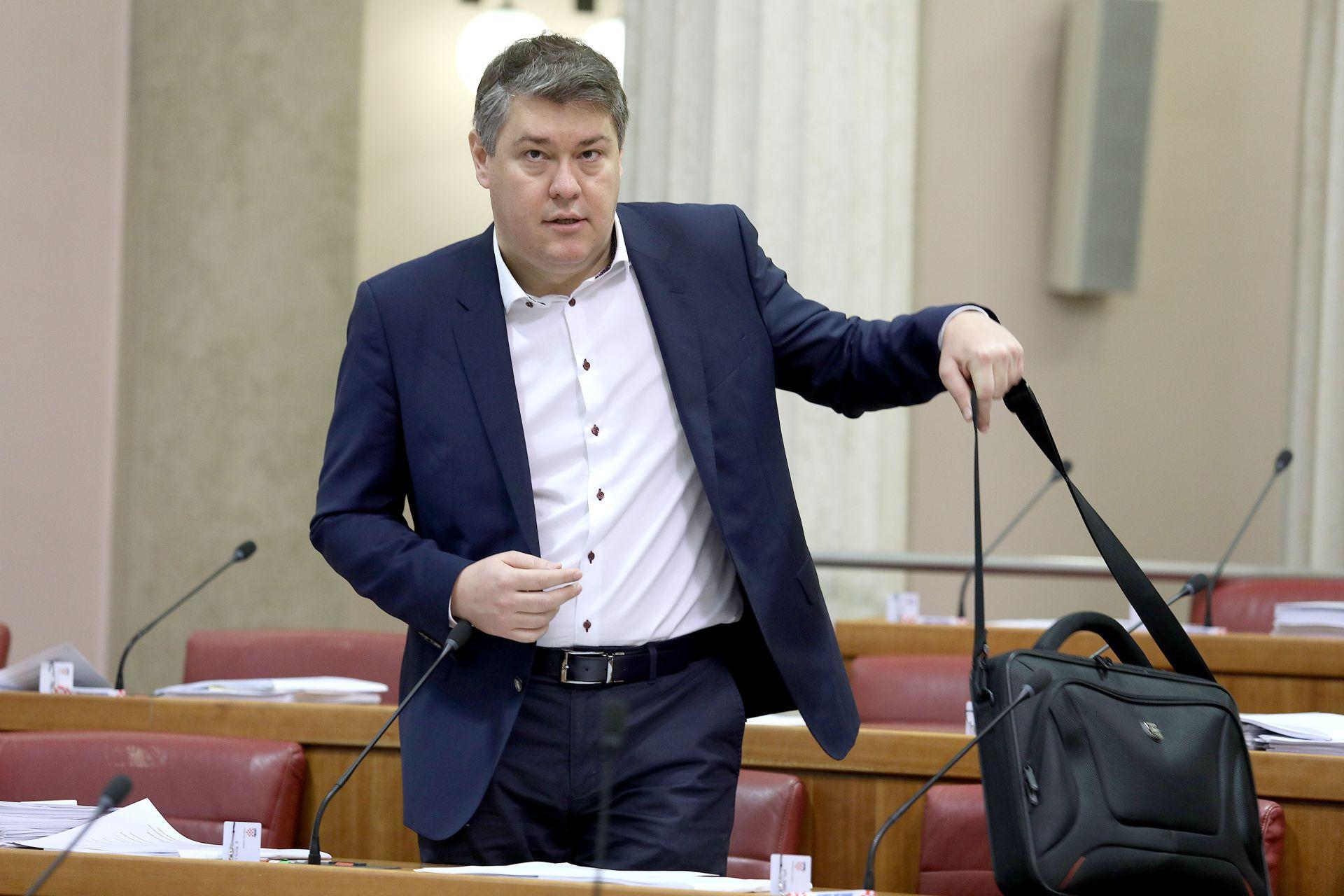 JEDNOGLASNA ODLUKA: Lalovac potpredsjednik saborskog Odbora za financije