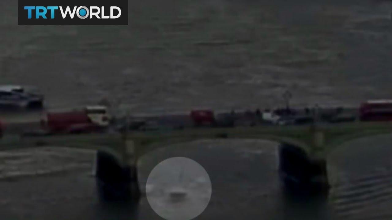 VIDEO: OBJAVLJENA SNIMKA TRENUTKA NAPADA NA LONDON Snimljena i žena koja pada u Temzu