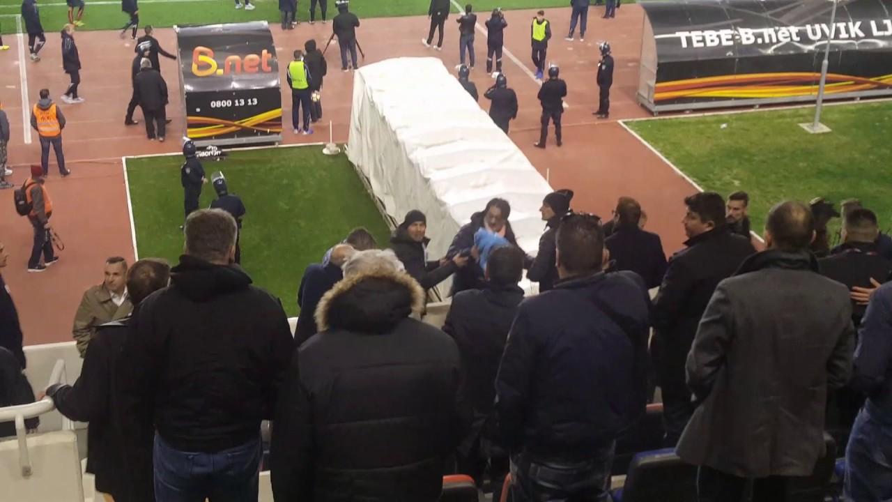 VIDEO: MIŠKOVIĆ NAPADNUT NA POLJUDU Navijači Hajduka gađali ga bocom