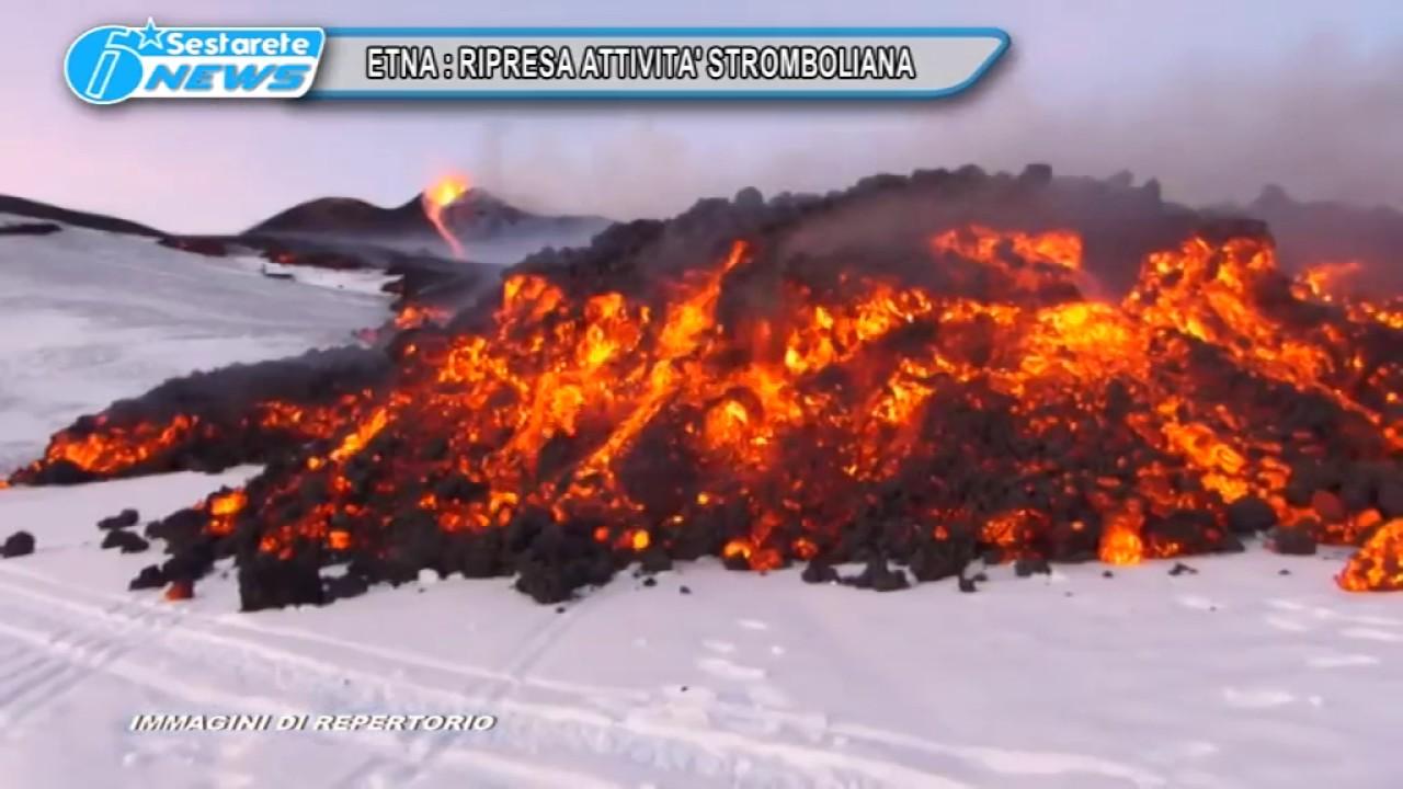 VIDEO: Treća erupcija Etne u samo tri tjedna