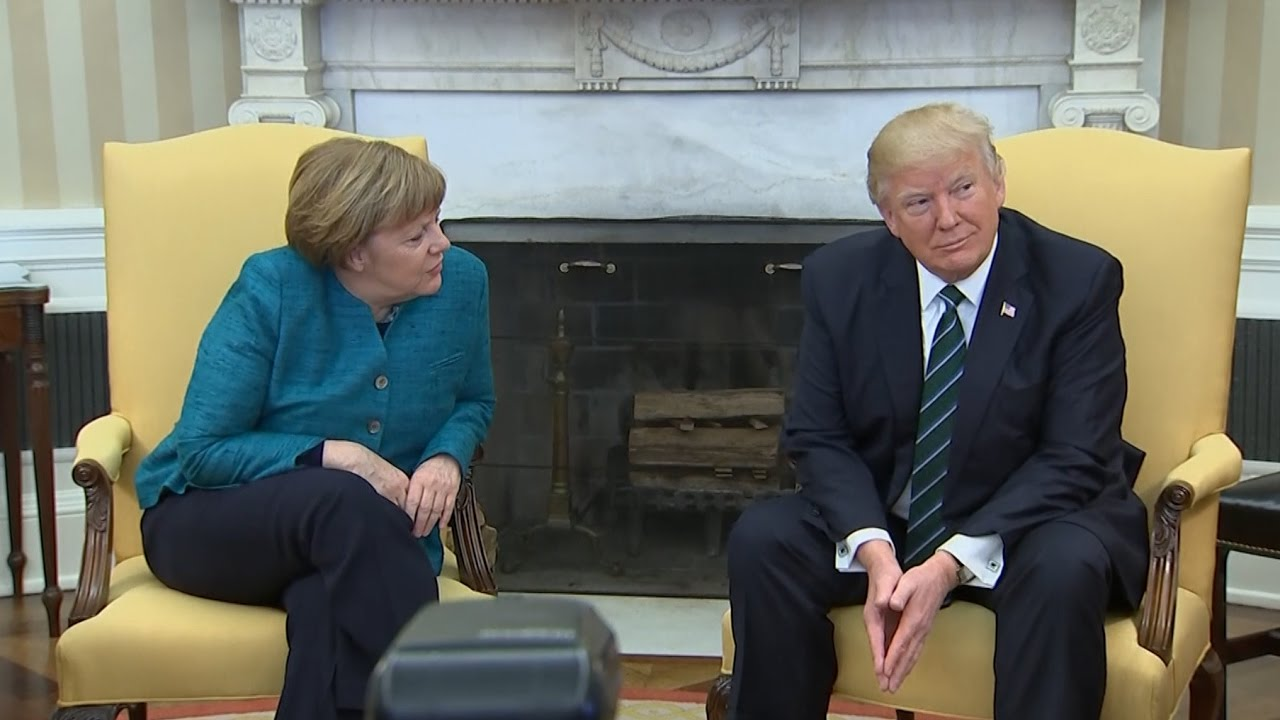 VIDEO: Trump se odbio rukovati s Angelom Merkel