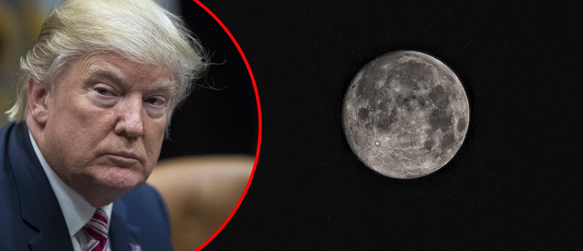 Trump želi na Mjesec