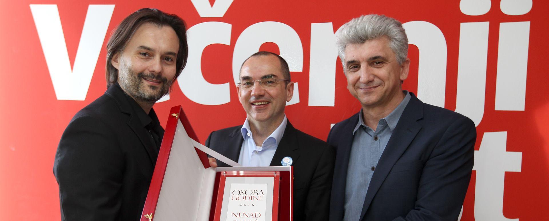 Poduzetnik Nenad Bakić je osoba 2016. godine prema izboru Večernjeg lista