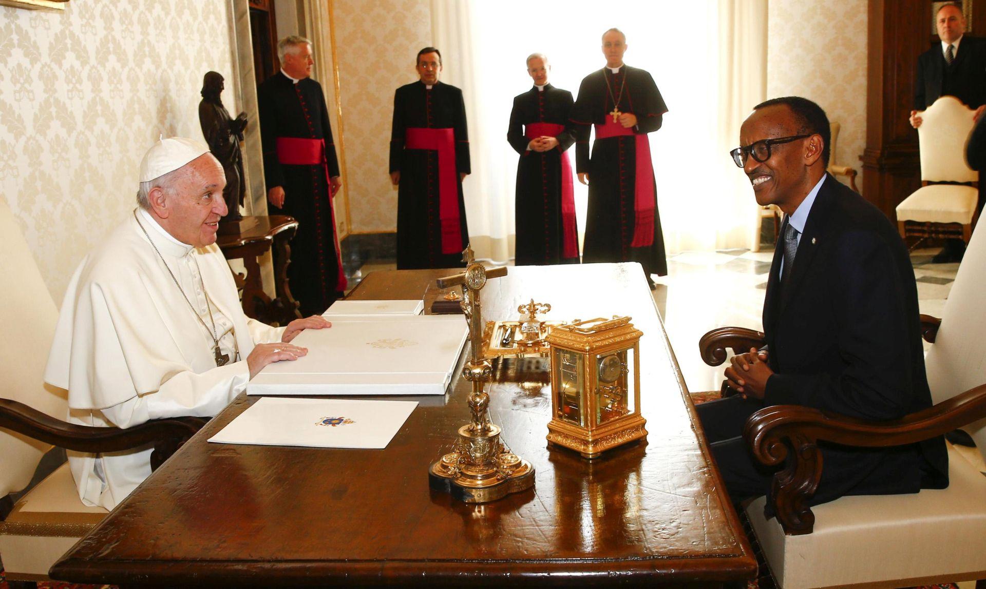"""GENOCID U RUANDI: Papa traži oprost za """"grijehe i propuste Crkve"""""""