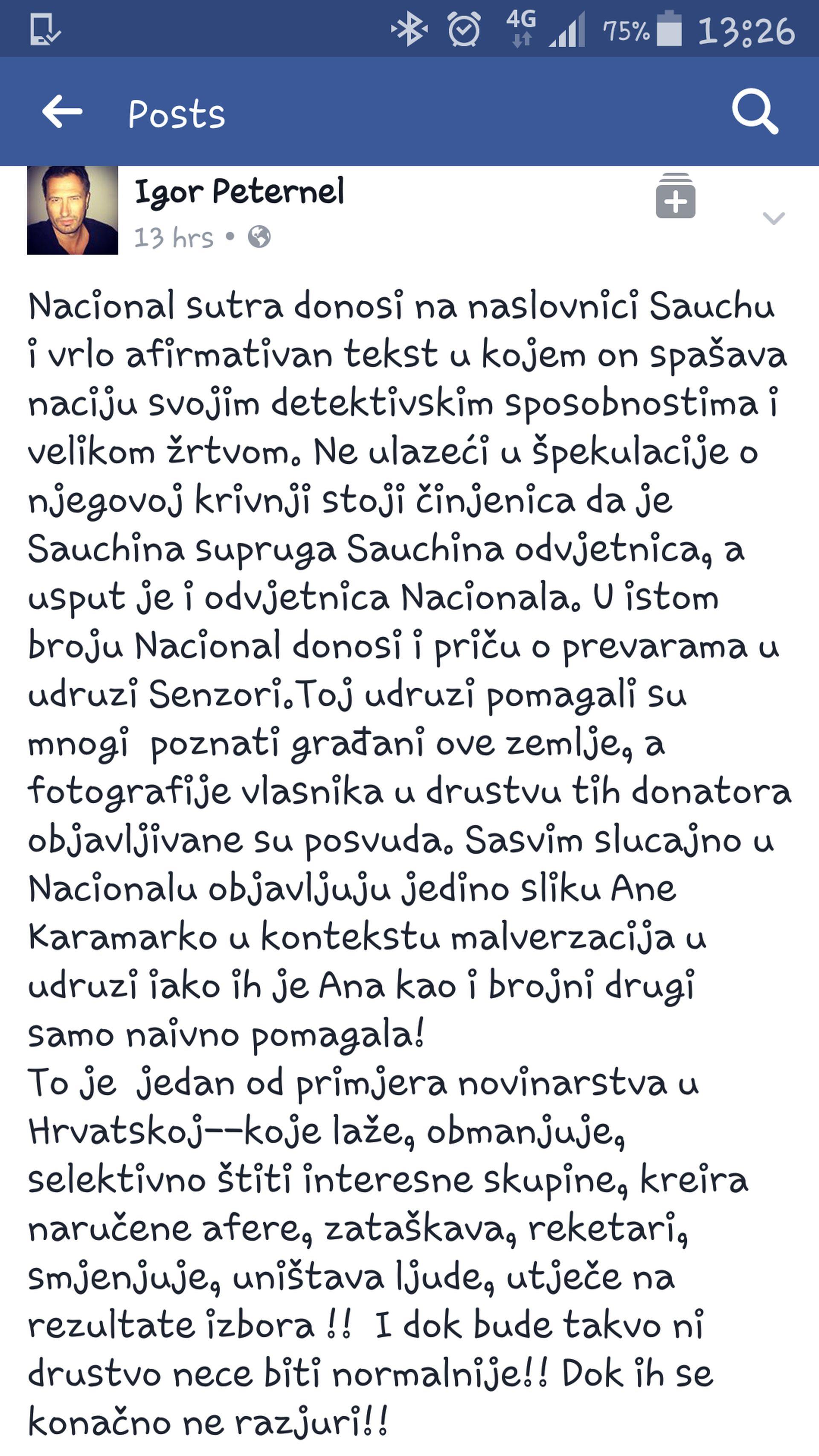 peternel facebook