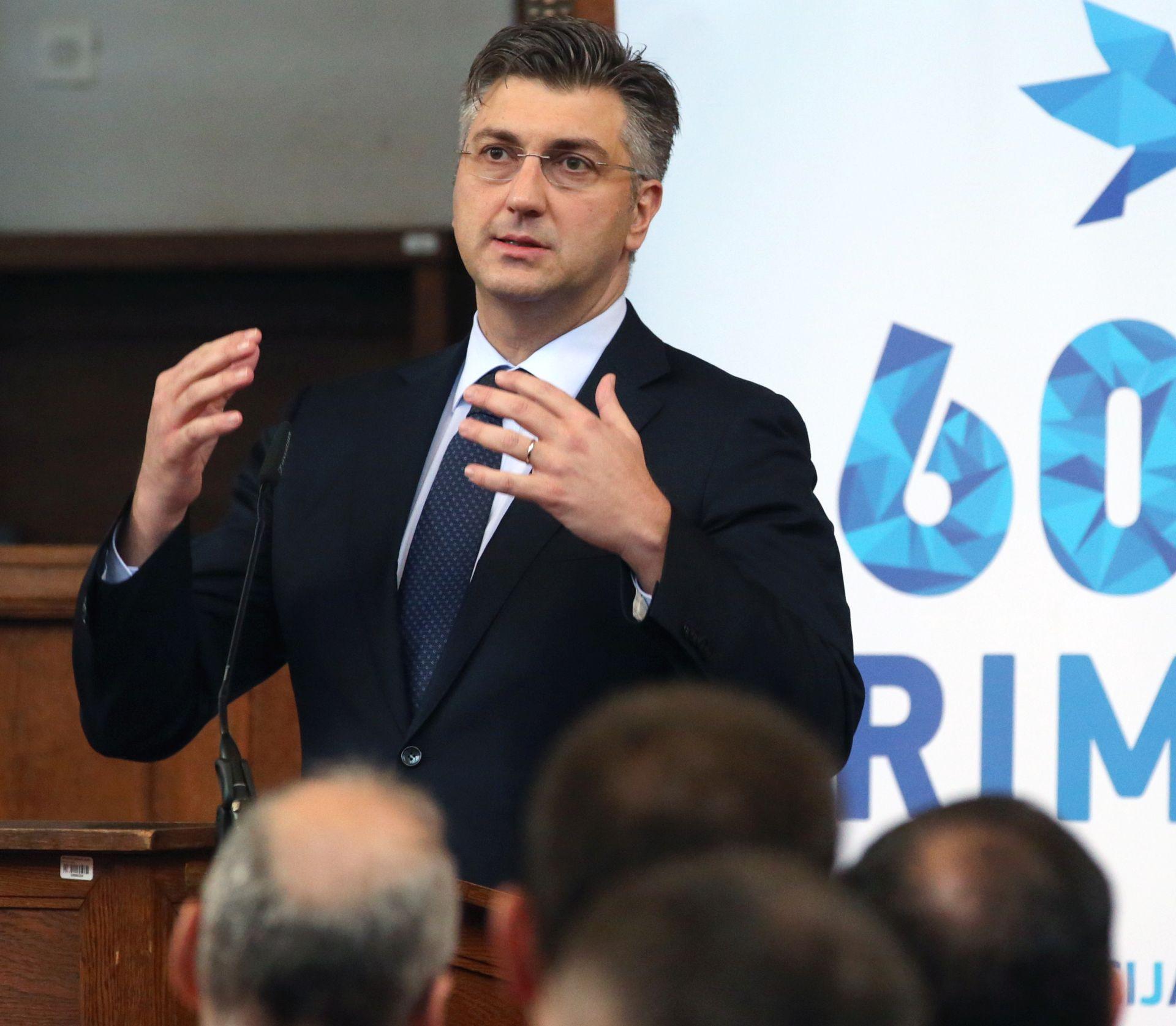 AGROKOR Plenković: 'Važno je osigurati likvidnost i kvalitetan plan restrukturiranja'
