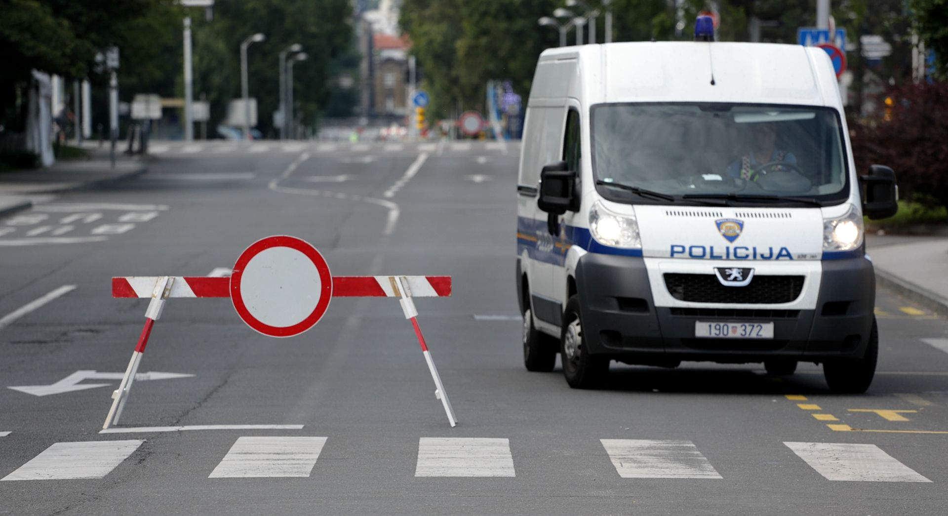 ZAGREB Opljačkan zaštitarski kombi s novcem