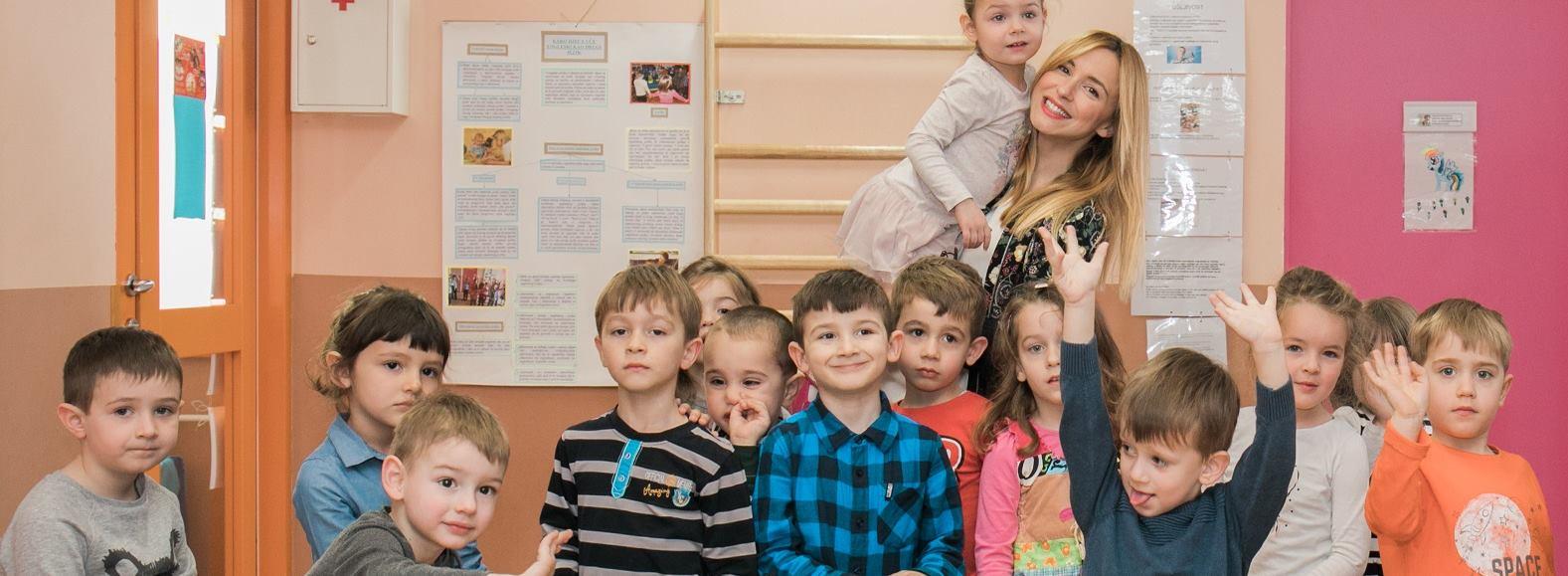 Iva Šulentić podučavala najmlađe o projektu tvrtke Tetra Pak®