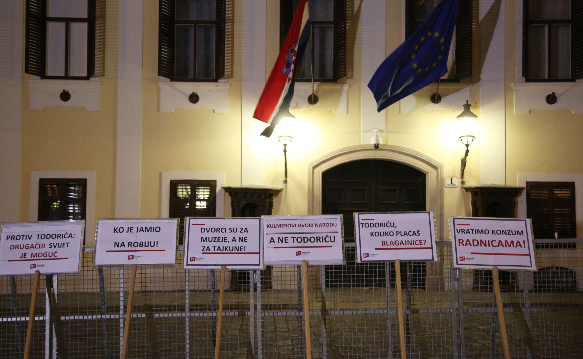 """PROSVJED NA MARKOVOM TRGU: """"Protiv Todorića: Protiv tajkuna"""""""