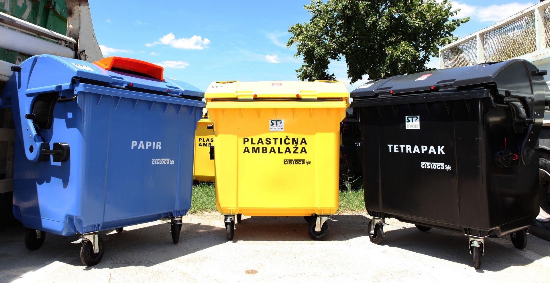 Osigurano skoro 50 milijuna kuna da se Hrvate nauči bacati smeće