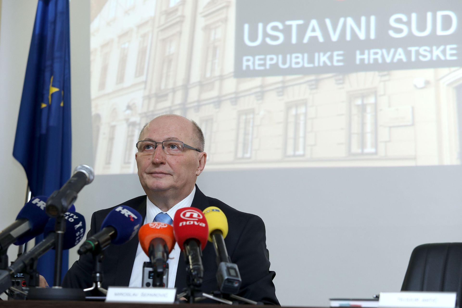 """ŠEPAROVIĆ """"Ustavni sud donijet će odluku bez pritisaka, u skladu s Ustavom"""""""