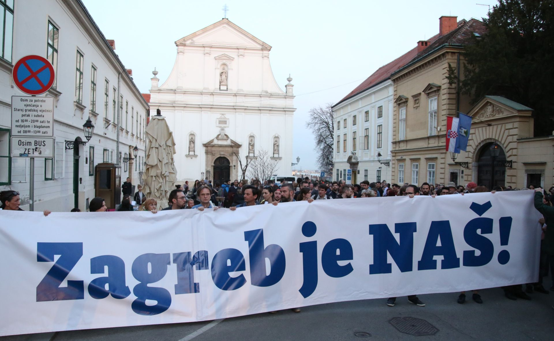 "LOKALNI IZBORI: Platforma ""Zagreb je naš"" predstavila svoj proglas"