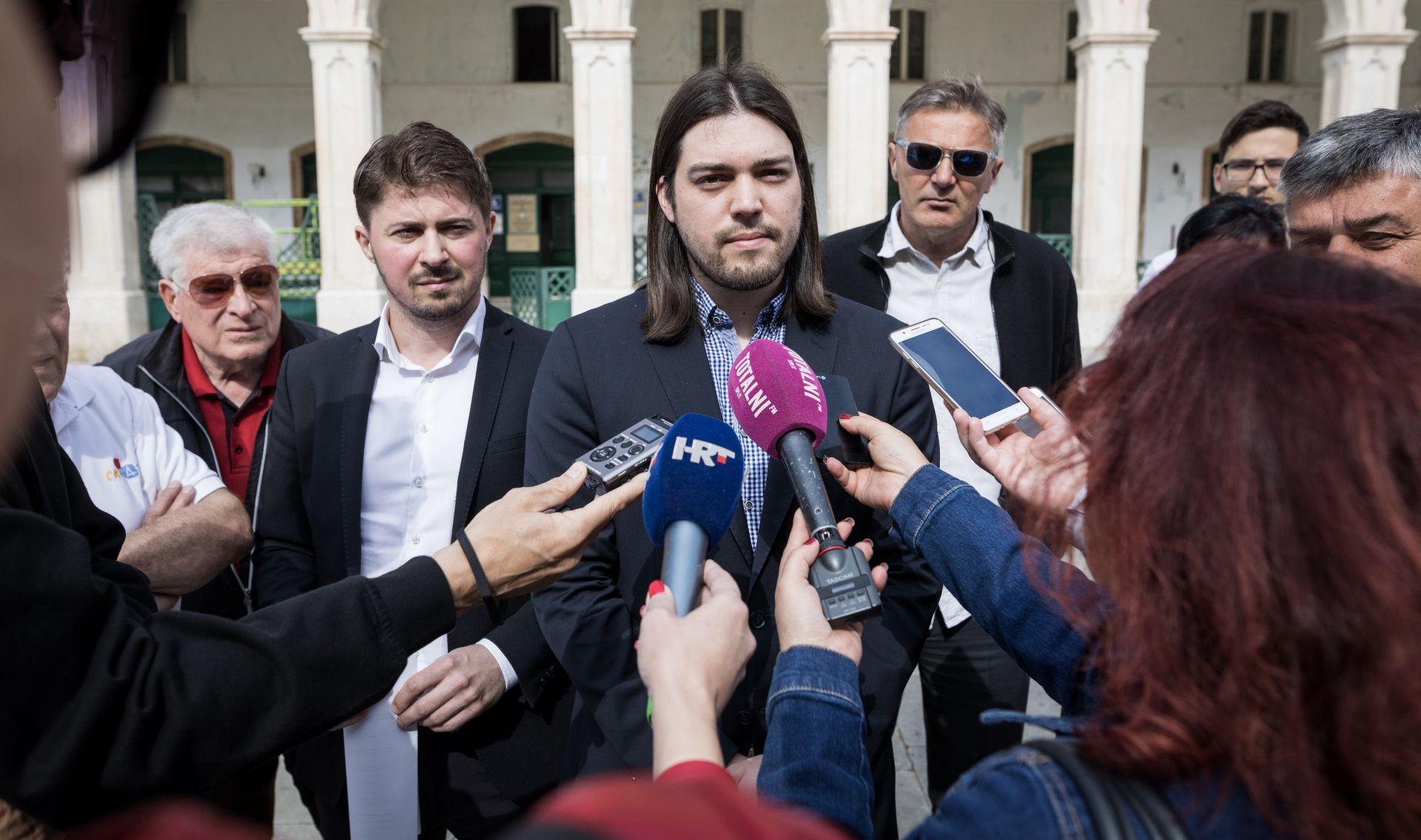 SPLIT Živi zid u koaliciji s jadranskim socijaldemokratima i splitskim umirovljenicima