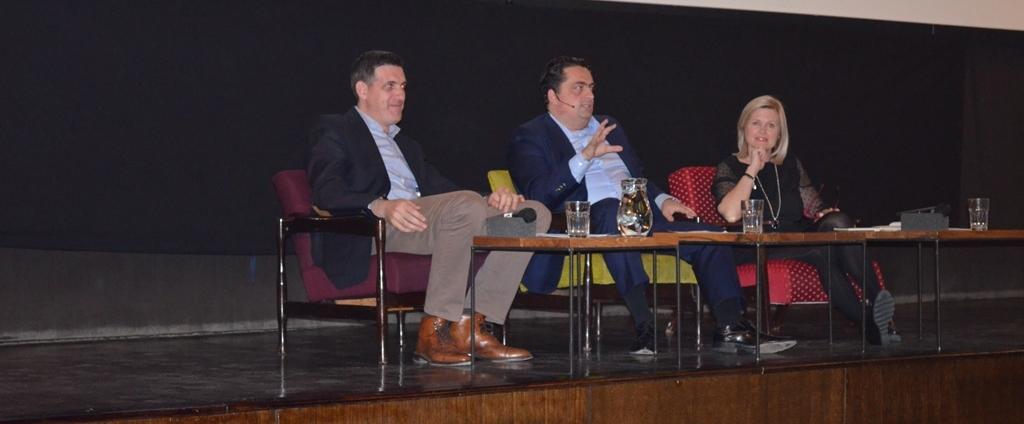 FOTO: Motivacijski govornik Kenan Crnkić održao predavanje 'Tvoj novi život'