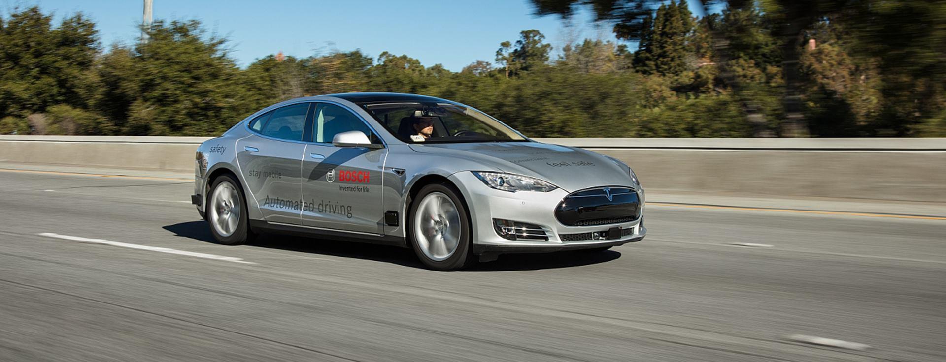 FOTO: Bosch pokreće inicijativu za automatiziranu vožnju u NR Kini