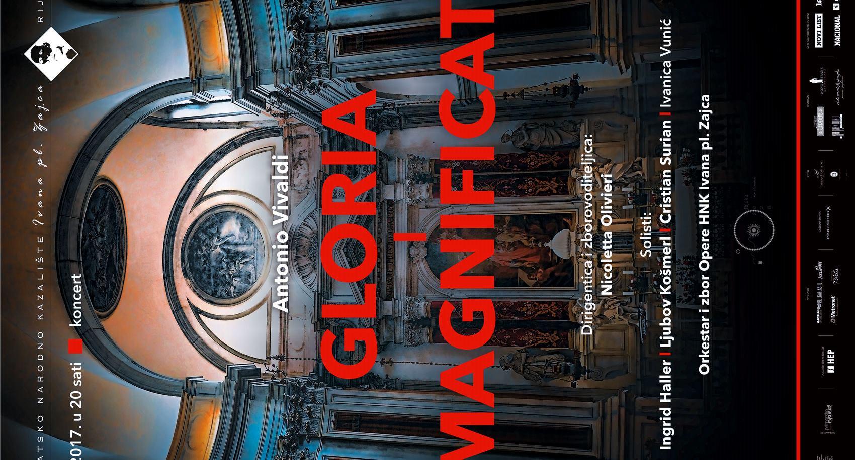 Gloria i Magnificat, grandiozna Vivaldijeva sakralna djela u HNK Ivana pl. Zajca