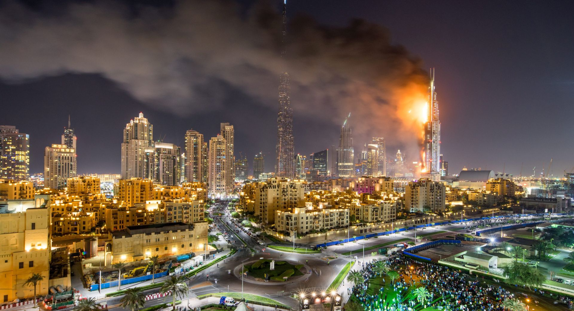 Požar progutao još jedan toranj u središtu Dubaija