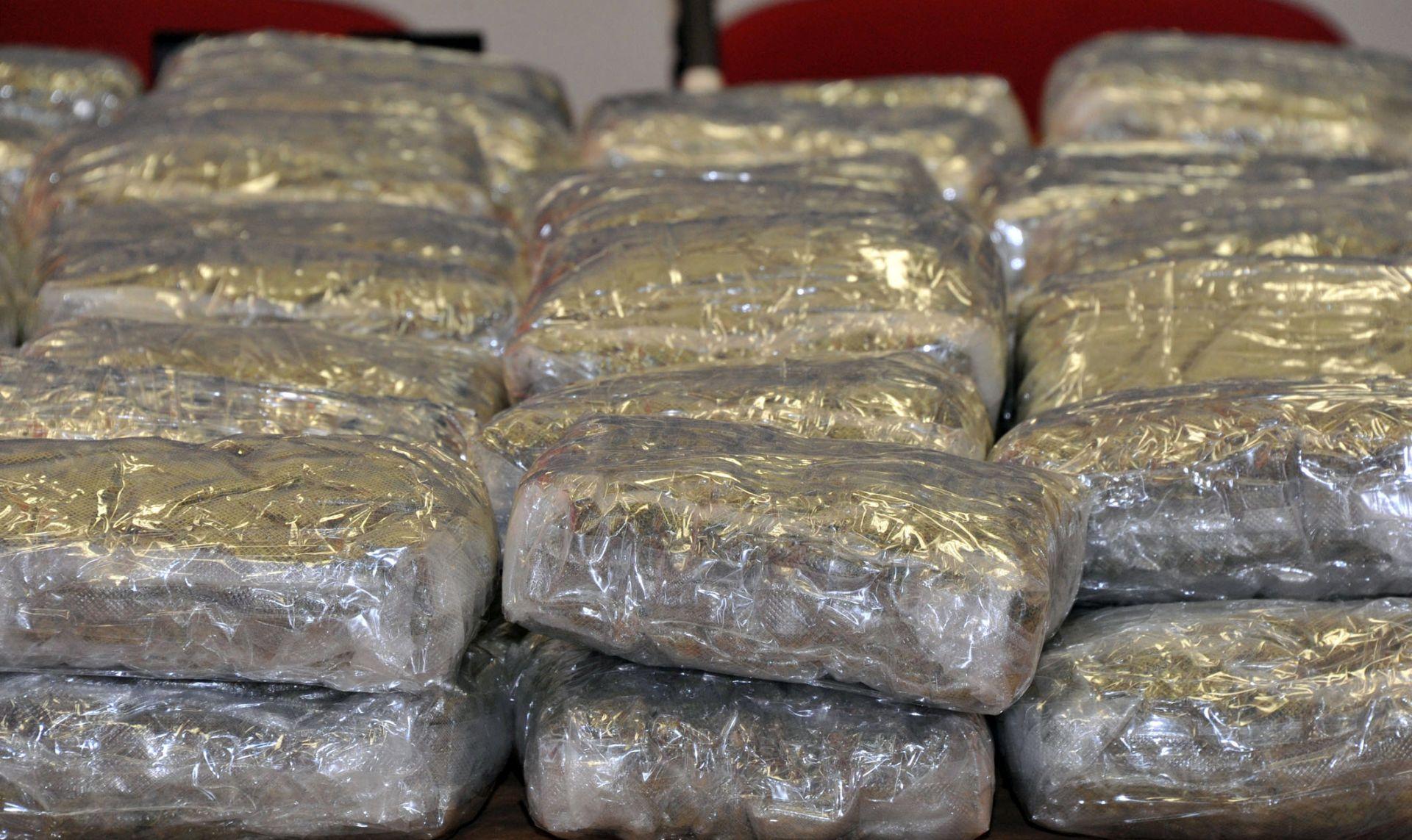 Policija zaplijenila više od 26 kg marihuane