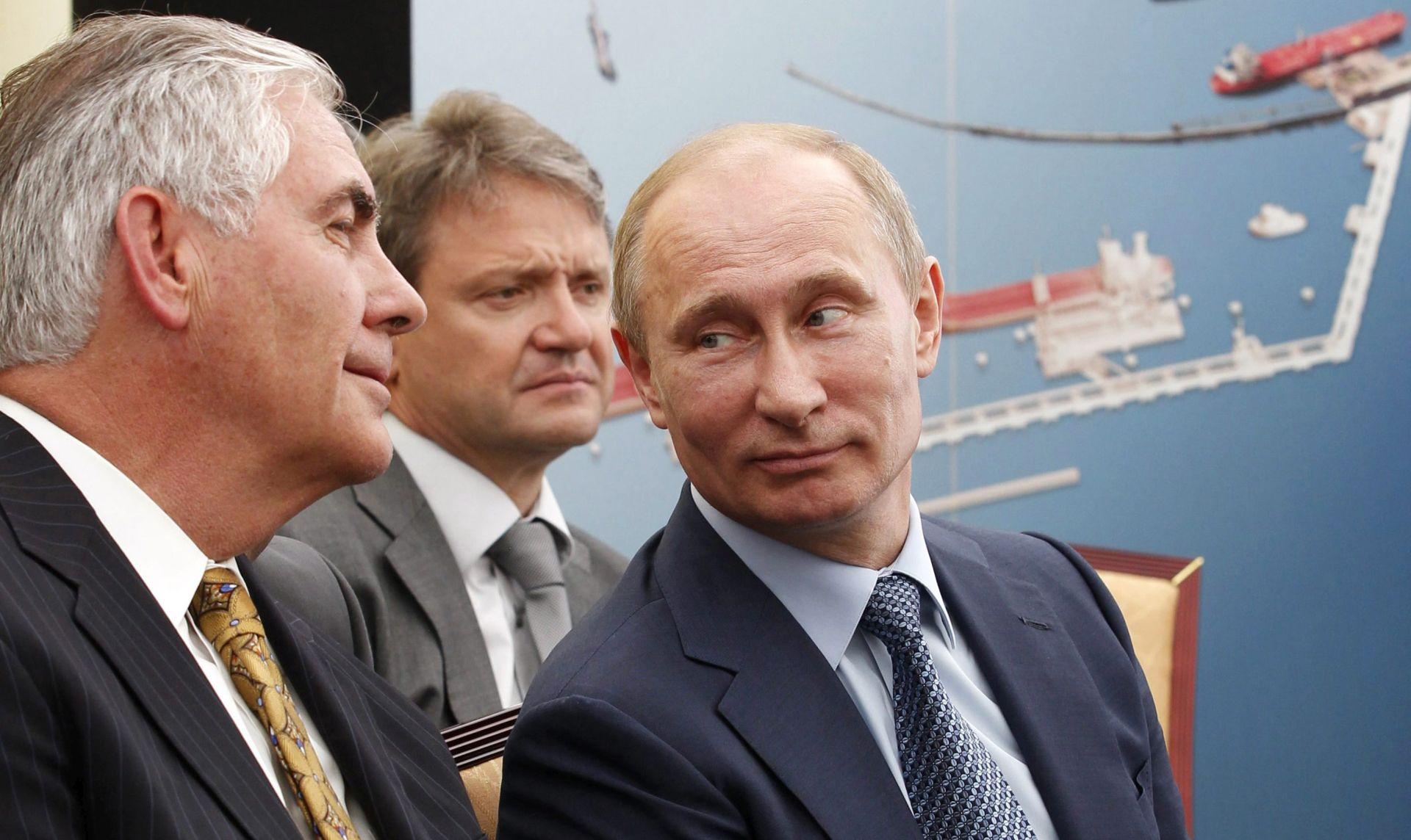 Sastanak Tillersona i Putina u Kremlju