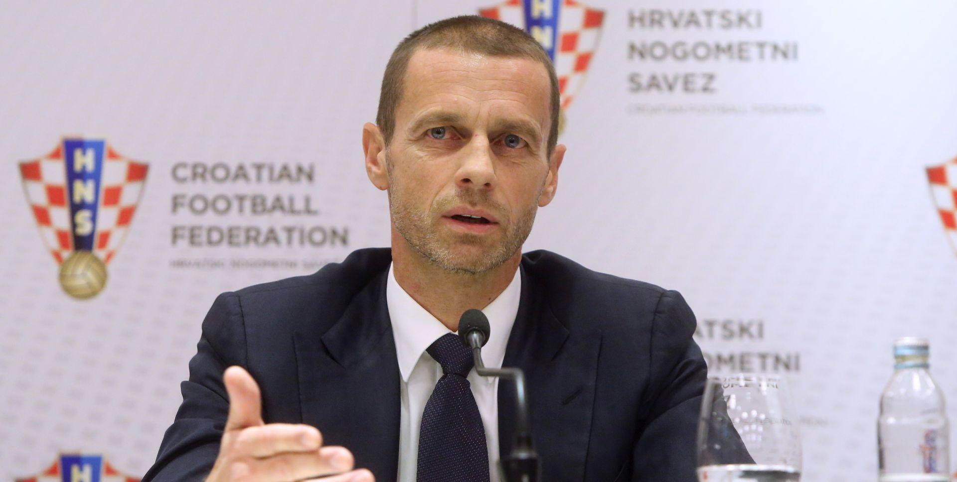 ČEFERIN 'Svaka članica UEFA-e dobit će milijun eura'