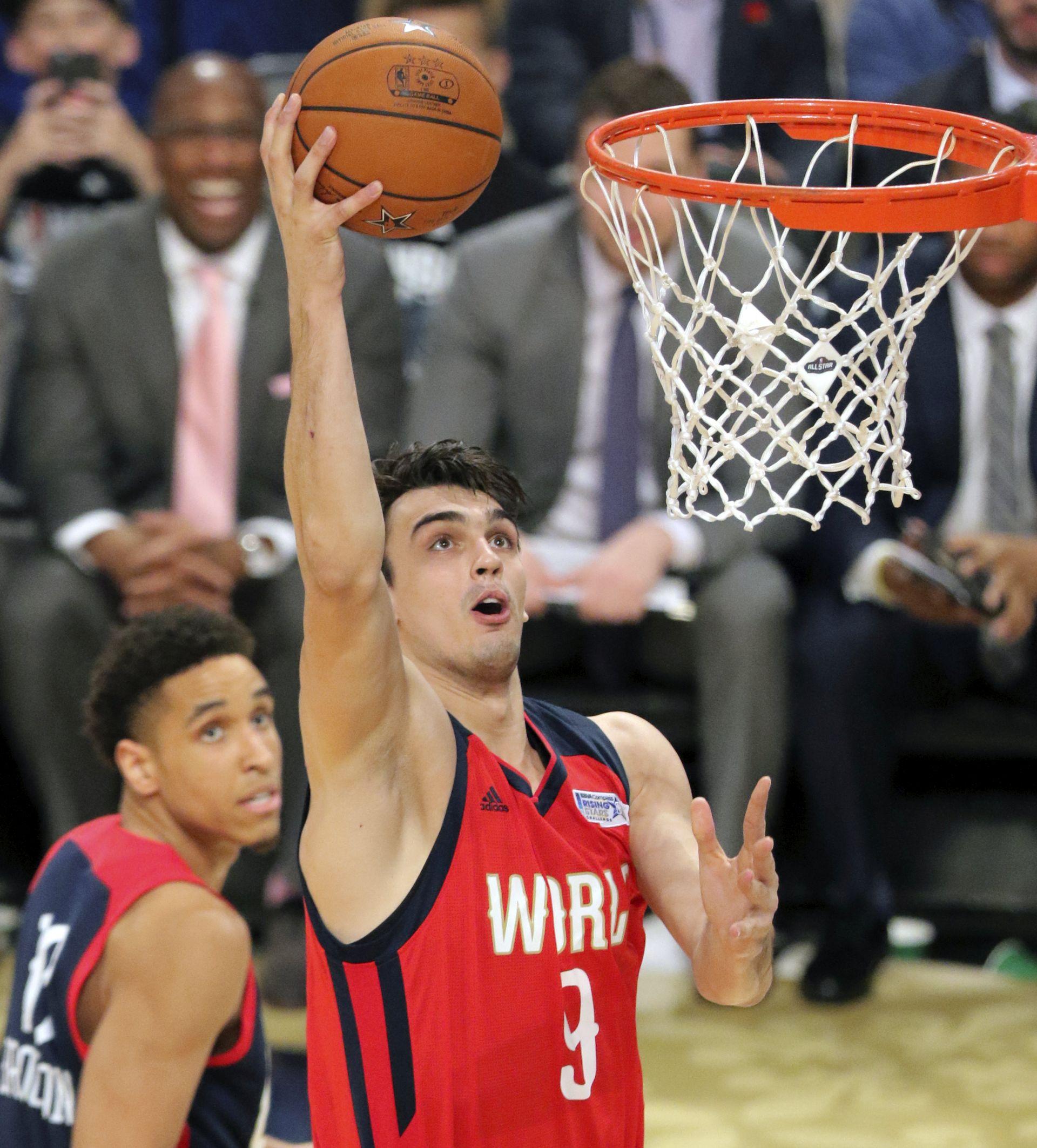 NBA Brogdon rookie godine, Šarić u najboljoj petorci rookieja
