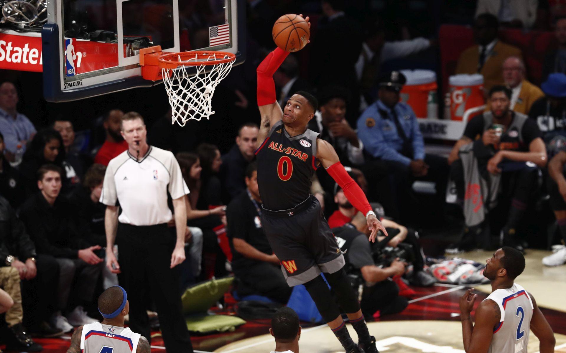 """NBA Westbrook osigurao """"triple-double"""" prosjek"""