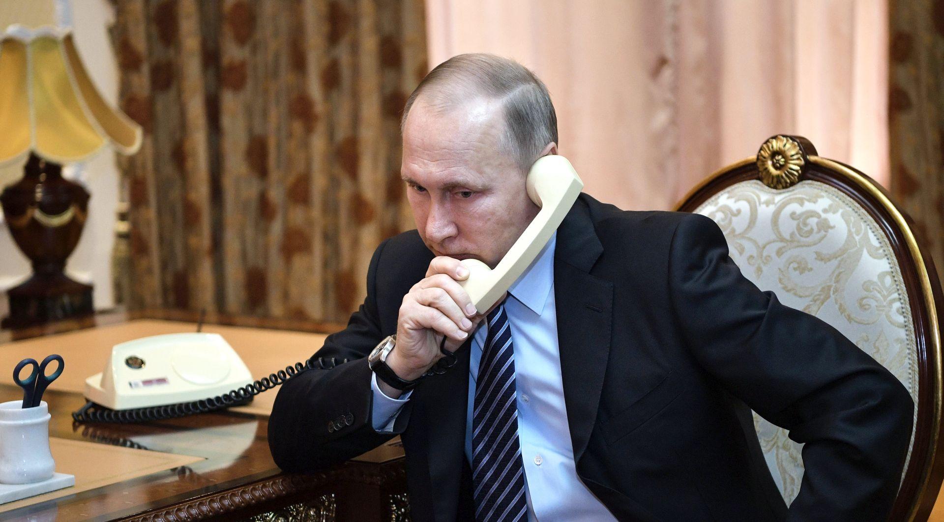 Putin i Rohani u telefonskom razgovoru osudili američku agresiju u Siriji
