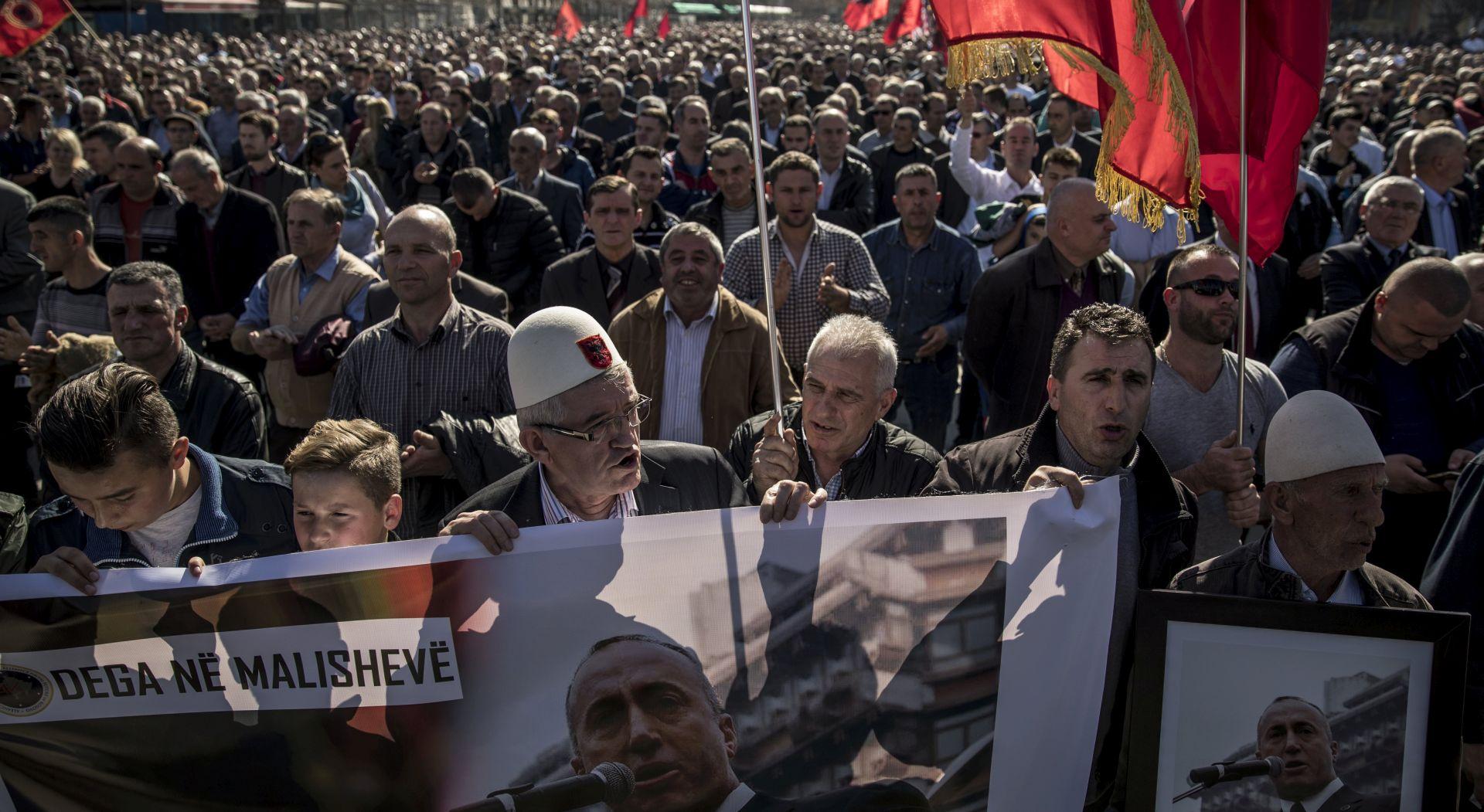Na Kosovu slavlje zbog oslobođenja Ramusha Haradinaja