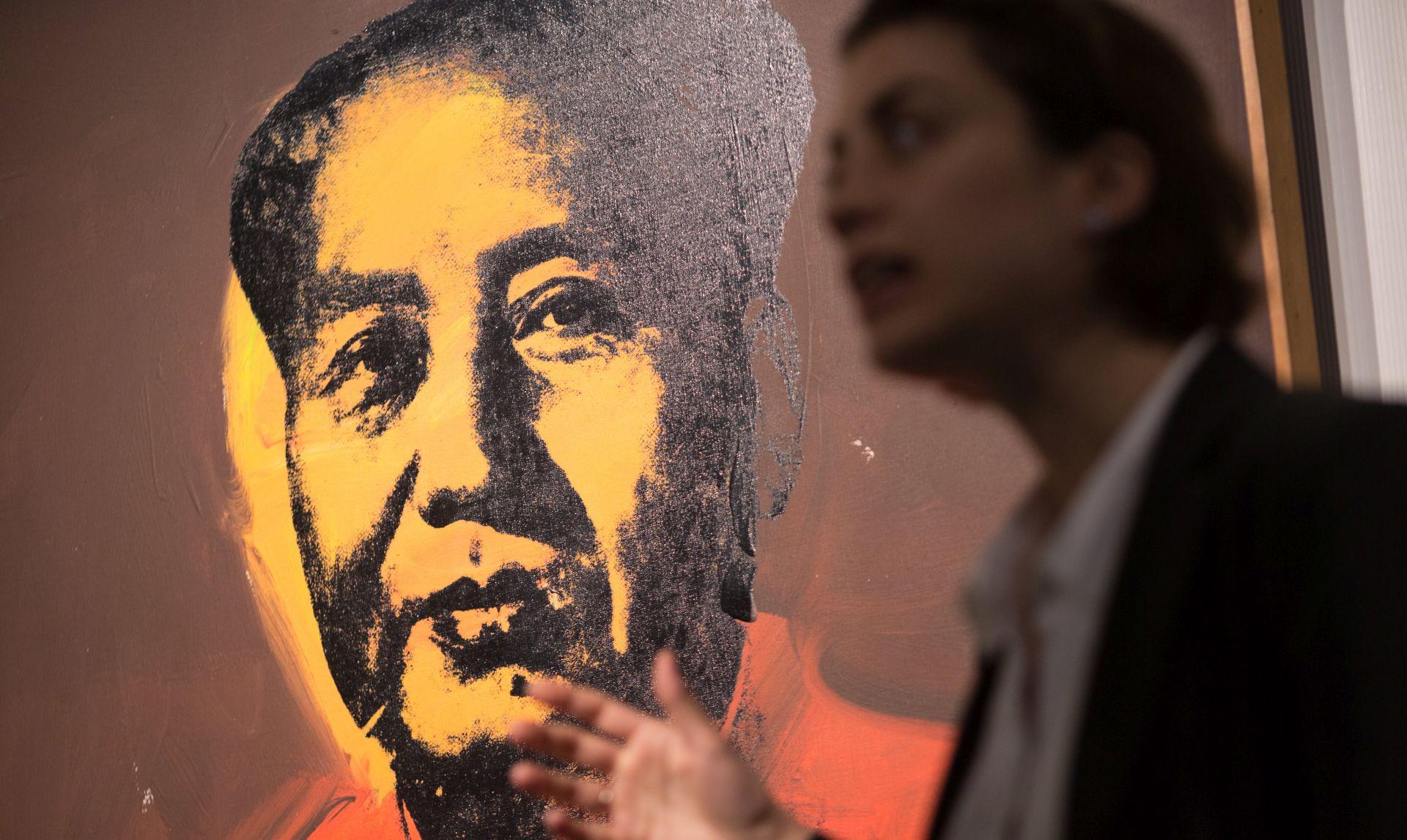 Warholov portret Maoa prodan za 12,6 milijuna dolara